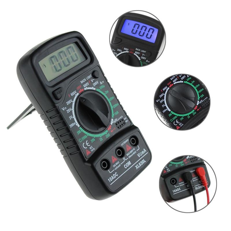 Digitális multiméter Voltmérő XL-830L LCD Multiméter Voltmérő - Mérőműszerek - Fénykép 4