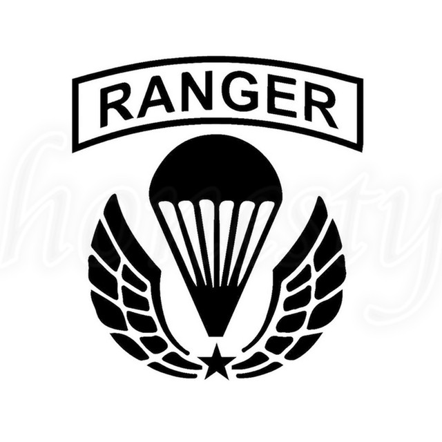 Us Army Ranger Laptop Window Glass Truck Decor Car Sticker Wall
