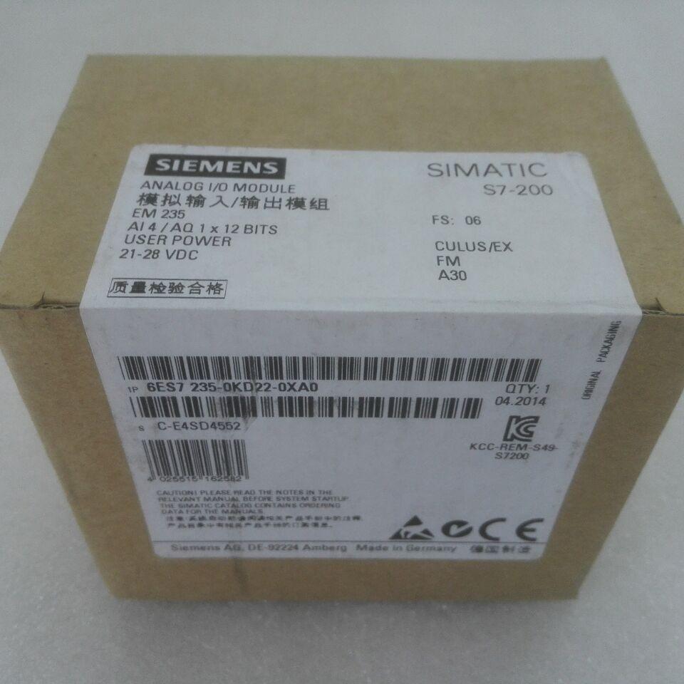 Brand New 6ES7235-0KD22-0XA0 6ES7 235-0KD22-0XA0  With Free DHL / EMS