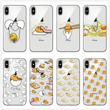 Cute Funny Gudetama Cartoon Egg Soft Silicone Phone Case For iphone X 10 8 8Plus7 6 6S 6Plus 5 11 11PRO MAX SE Cases Cover