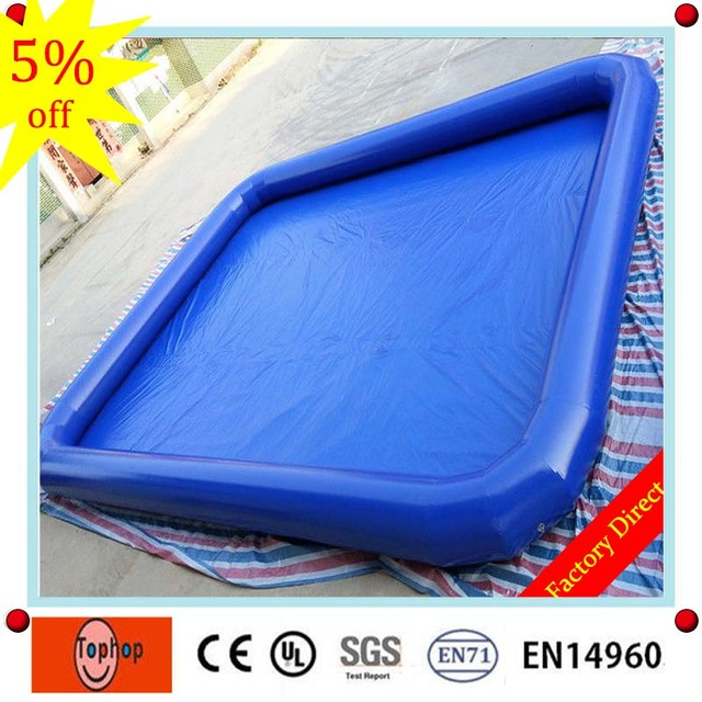 6*6m 0.9mm Pvc Tarpaulin Outdoor Rubber Family Adult Plastic Inflatable  Simming Pool,