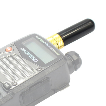Radio Antenna SRH-805S Mini 4.5CM SMA-F Connector Dual Band Short Antenna for BaoFeng UV-5R BF-888S/777S/9700/9R Walkie Talkie