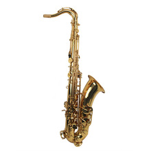 Высококачественный золотой лак тон Bb тенор саксофон