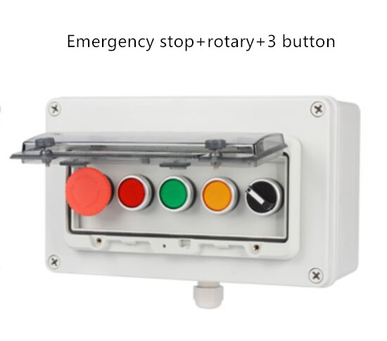 1 set thermal switch overload protector push button+waterproof cover  HA