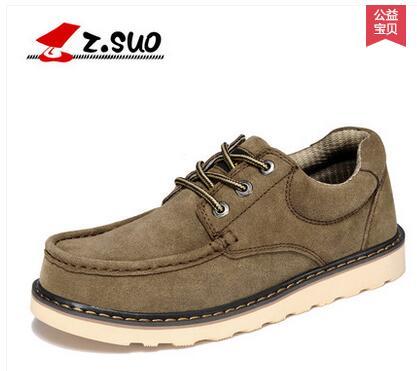 Zsuo 패션 플러스 사이즈 캐주얼 남성 인기 신발, 암소 스웨이드 가죽 패션 남성 신발, zs6156-에서남성용 캐주얼 신발부터 신발 의  그룹 2