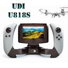 Радиоуправляемый Дрон FPV Камера вертолет UDI U818S U842 с HD Камера видео Пульт дистанционного Управления Quadcopter реального времени fswb(China (Mainland))