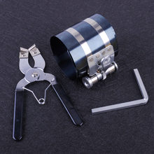 beler 3 53mm 175mm Piston Ring Compressor Wrench Caliper Ratchet Style Pliers Expander Car Engine Repair