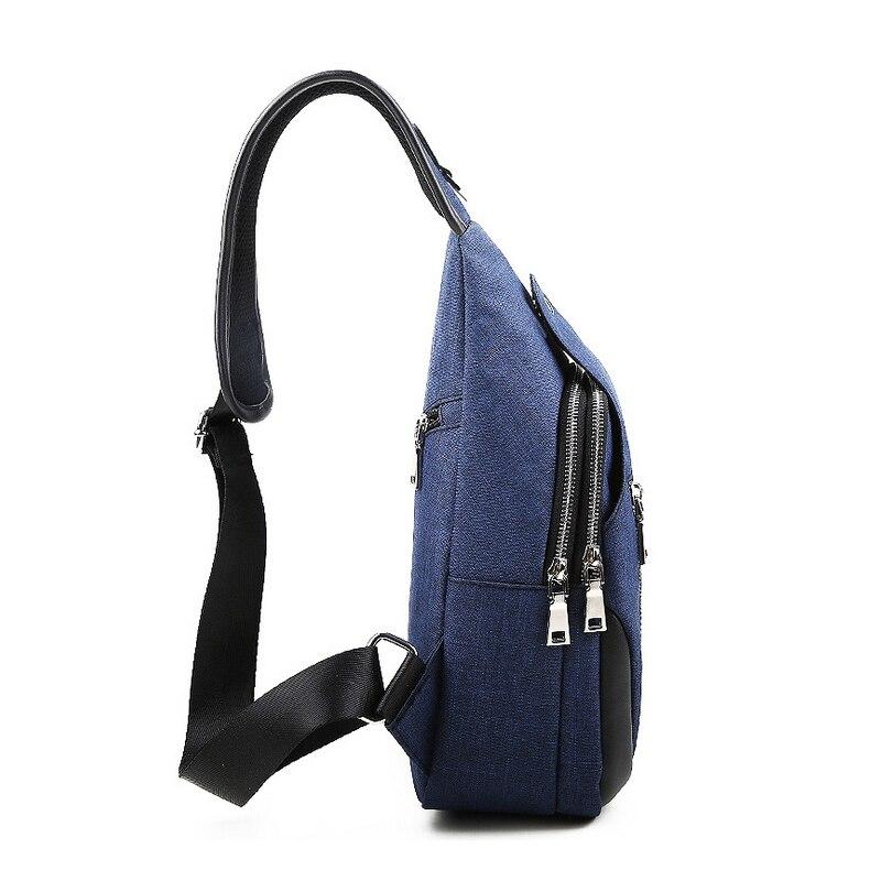 brown E0908 Breve Viaggio blue Black Sacchetto Scuola Di Uomini Borse Jorgeolea light Maschio Theft Messenger Bag Anti Petto A gray Blue Spalla 81wTZ0