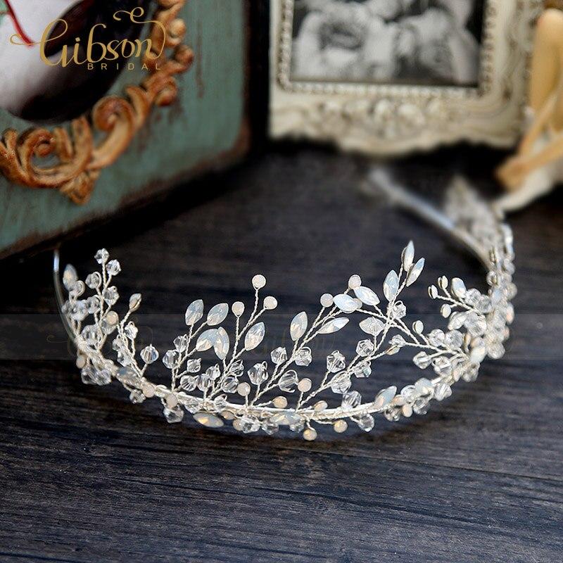 Free Shipping New Rhinestone Wedding Bridemaid Girls Hair Accessories Bridal Tiara Crowns Headband