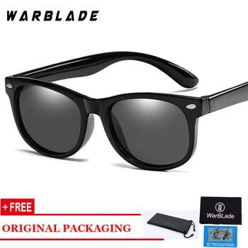 ed55d16b5f Los niños gafas de sol polarizadas TR90 bebé clásico de moda de gafas niños  gafas de sol niño niñas gafas de sol UV400 gafas WarBlade