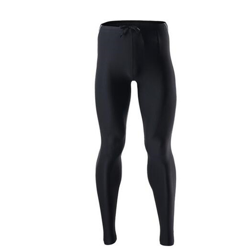 ARSUXEO Compression Sport Mens Tights Running Elastic Pants Tights Run Fitness Workout GYM Reflective Pants