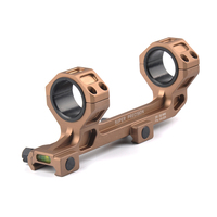 25 4mm 30mm QD Rings Mount With Bubble Level Fit 20mm Picatinny Rail For Tactical Gun