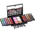 78 Color Smoky Eyeshadow Blush Makeup Set Mixed Professional Shimmer Eyeshadow Lip Gloss Palette Cosmetic