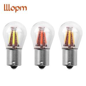 1X супер яркий 4 нити Led 1157 BAY15D P21W/5W Автомобильный тормозной светильник лампа для автомобиля P21W Ba15s 1156 синий белый красный желтый
