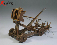 RealTS the medieval chariots Roman army Classic Chariot model series:the catapult/ torsion bow
