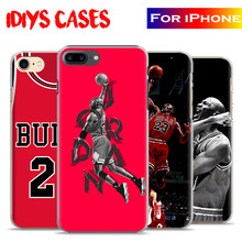 Michael Jordan MJ Basketball Player New Coque Phone Case Cover Shell Bag For Apple iPhone 7PLUS 7 6SPLUS 6S 6PLUS 6 5 5S SE 4S 4