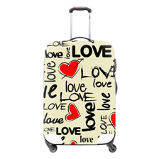 9 Cartoon Thicken Non-woven Travel Trolley Luggage Cover for 20-28inch Suitcase Protective Cover Travel Accessories