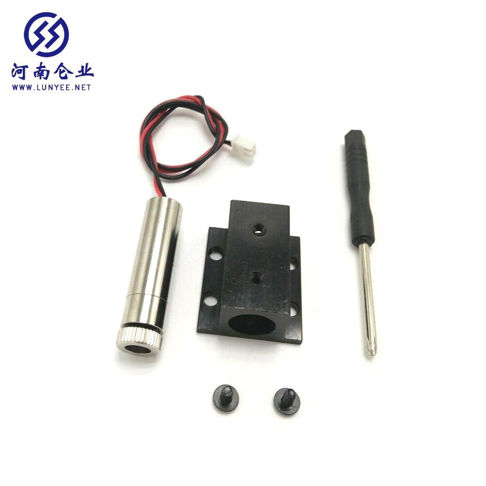 La machine de gravure laser 1500 MW 405 nm convient à la mise au point de têtes laser haute puissance.