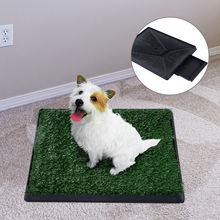 Высококачественный ящик газон туалет для домашнего животного собаки зеленый материал горшок лучшие продажи гигиенический лоток мочи тренировочное оборудование