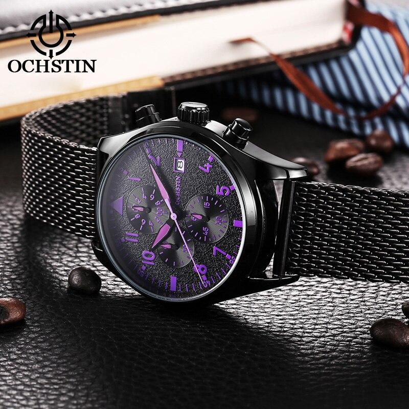 Ikon мужские часы, черные мужские часы, Топ бренд, роскошные мужские спортивные часы, модные наручные часы, черные, белые 1512964 - 5