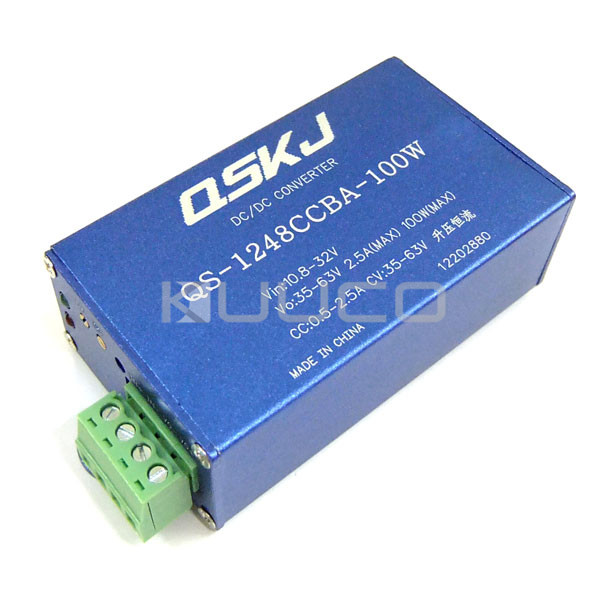 Adapter/Charging module DC 10.8~35V to 35~63V 2.5A Boost Converter DC 36V 48V Power Supply Module/Charger/DriverAdapter/Charging module DC 10.8~35V to 35~63V 2.5A Boost Converter DC 36V 48V Power Supply Module/Charger/Driver