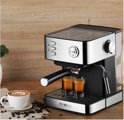 Petrus household coffee machine home pressure pump Italian steaming home foam milk maker PE3380B 20bar 1.5L office espresso 220v