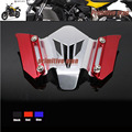 For YAMAHA MT-07 MT07 MT 07 FZ07 FZ 07  FZ-07 2014-2015 Motorcycle CNC Aluminum Windscreen Windshield bracket Red