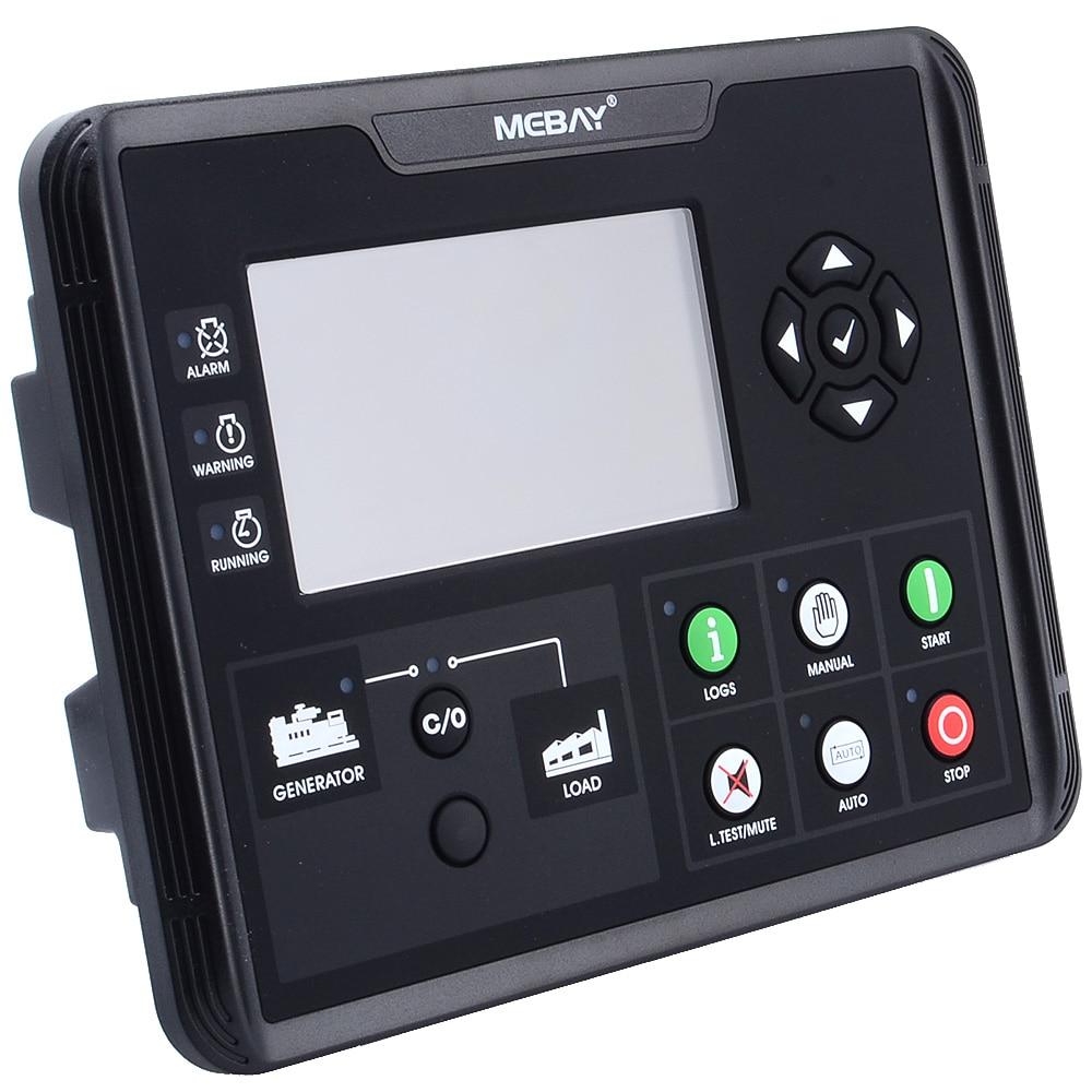 """DC60D контроллер генераторной установки для мониторинга параметров дизельной/бензиновой/газовой генераторной установки с 4,"""" ЖК-экраном 12006019"""