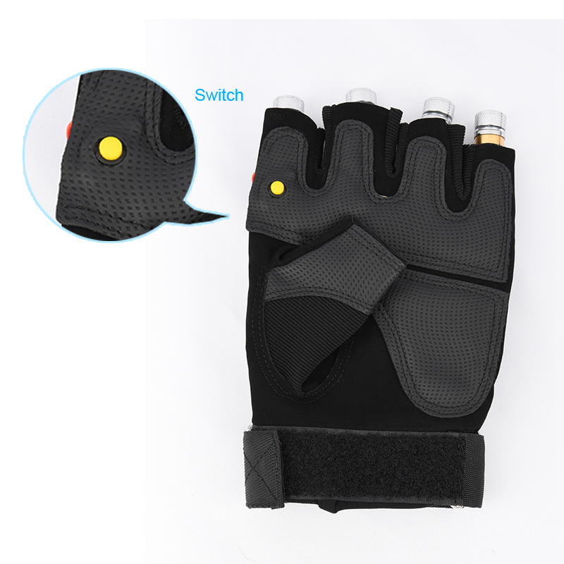 Cool Finger - Laser Gloves - Flashlight - for Party - Concert - Clubbing - Wedding - Birthday - Party - Outdoor Night Activities(3)