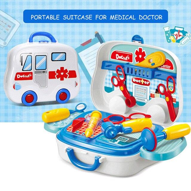 Medical Kit Kids Arzt Spielzeug pretend Rollenspiel Spielzeug Kinder Pretend Spielen Haus doctora juguetes 730 730a