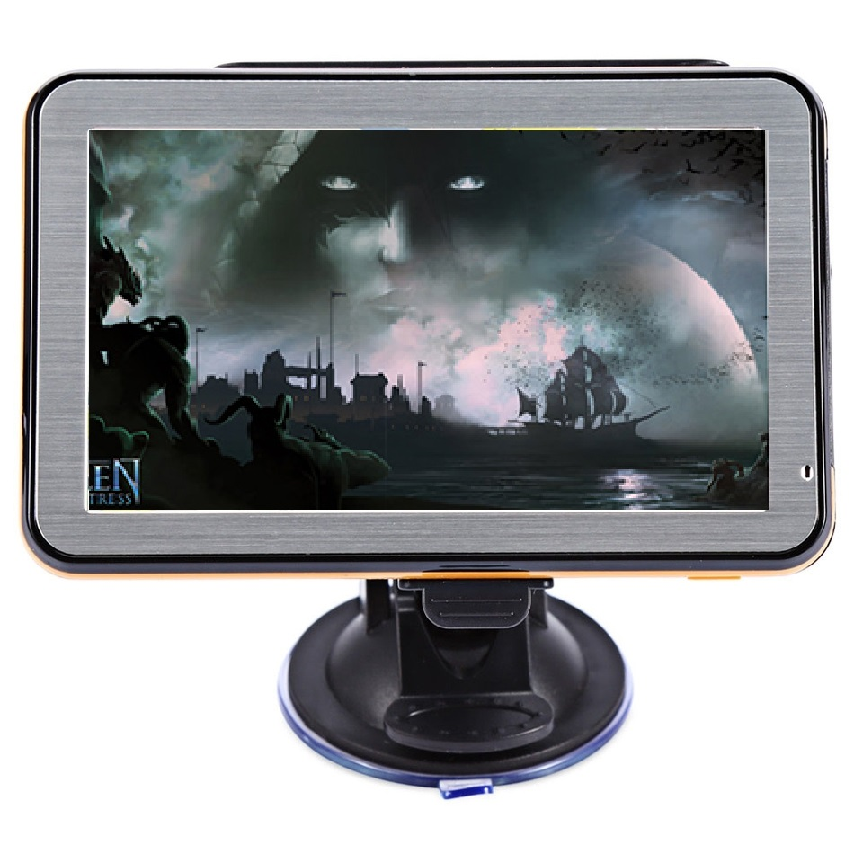 GPS Navigation Touch-Screen Car MP3 TFT 5inch Mp4-Player Voice-Guidance Lcd-Windows Fm-Radio