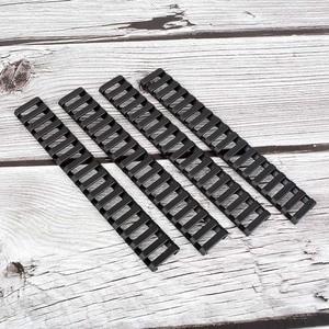 4x 18-Slot Picatinny Ladder Rail Panel Handguard Protector Resistant Cover
