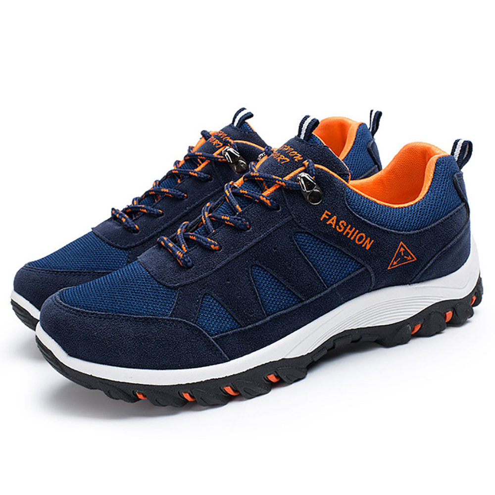 Outdoor Men Casual Shoes Men Air Mesh Sapato Masculino Black Climbing Shoe Anti skid Tactical Presto