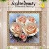 New Beauty Flower Rose Diamond Embroidery Diy Diamond Painting Cross Stitch Picture Of Rhinestones Full Square