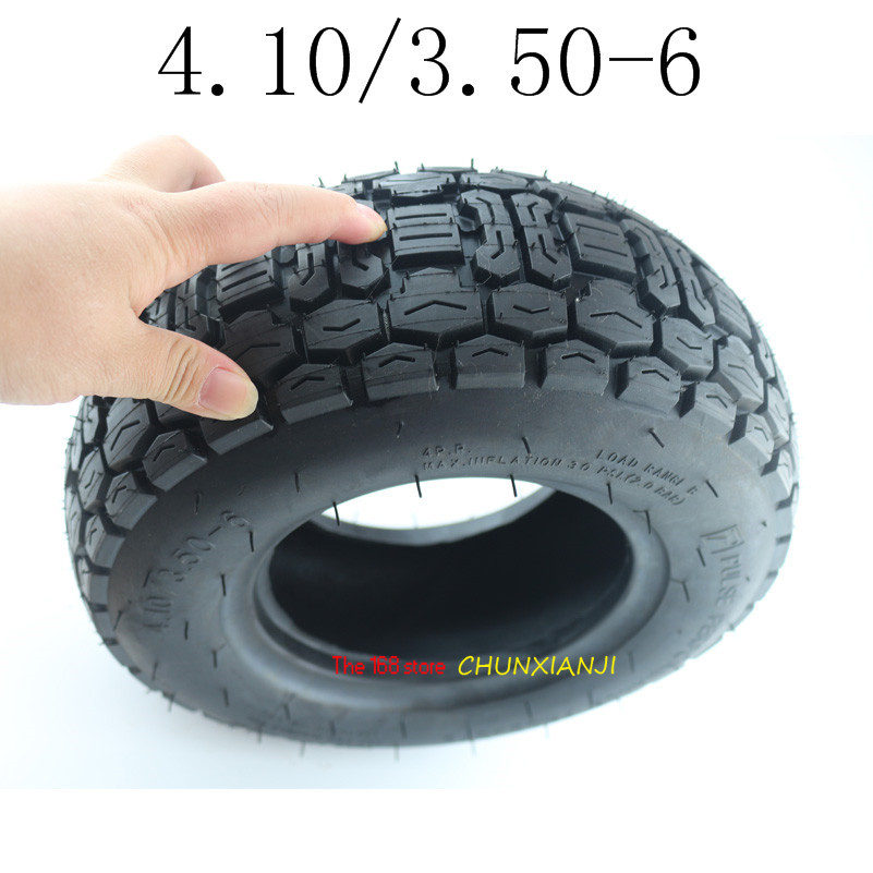 Good quality 4.10/3.50-6 Scooter tubeless Tires 6 Lawn Mower/Snow&Mud Tyre 4.10/3.50-6 vacuum tire mobility scooter tire