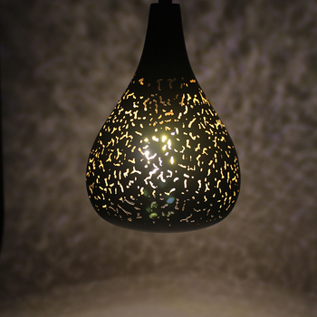Vintage Pendant Light Nordic Porous Loft E27 LED 1