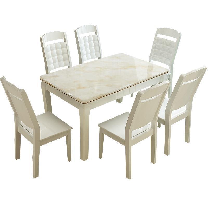 Tisch Comedor Küche Salle Krippe Moderne Ein Langer Eettafel Pliante Set Marmol Holz Tablo De Jantar Bureau Mesa Esstisch ZuverläSsige Leistung Möbel