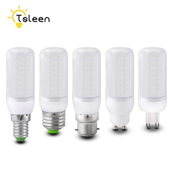 bombillas led 2017 220V Ultra Bright Light 5730 SMD 7W 12W 15W 20W Milky Warm Cool White E27 GU10 B22 E14 G9 LED Corn Bulb Lamp