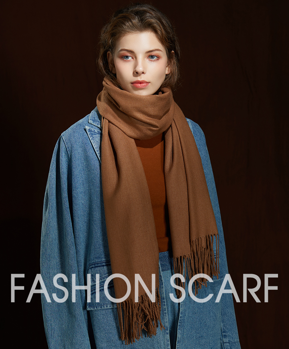 Winter Large Tassel Scarf 180cm65cm 23 Colors Wool Knitted Scarves 2019 Autumn 100% Cashmere Long Solid Scarf Women Warm Shawl (1)