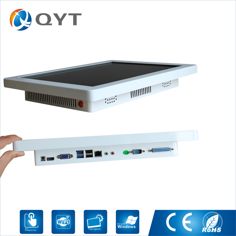15 Industrial Pc Resolution1024x768 5com 4usb 4GB RAM 32GB SSD Embedded Industrial Panel Pc Intel