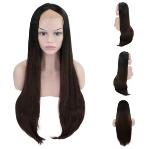 Image 3 - JOY&BEAUTY 26inch Long Wavy Synthetic Lace Front Wig Glueless Heat Resistant Swiss Glueless 150% Density For Women