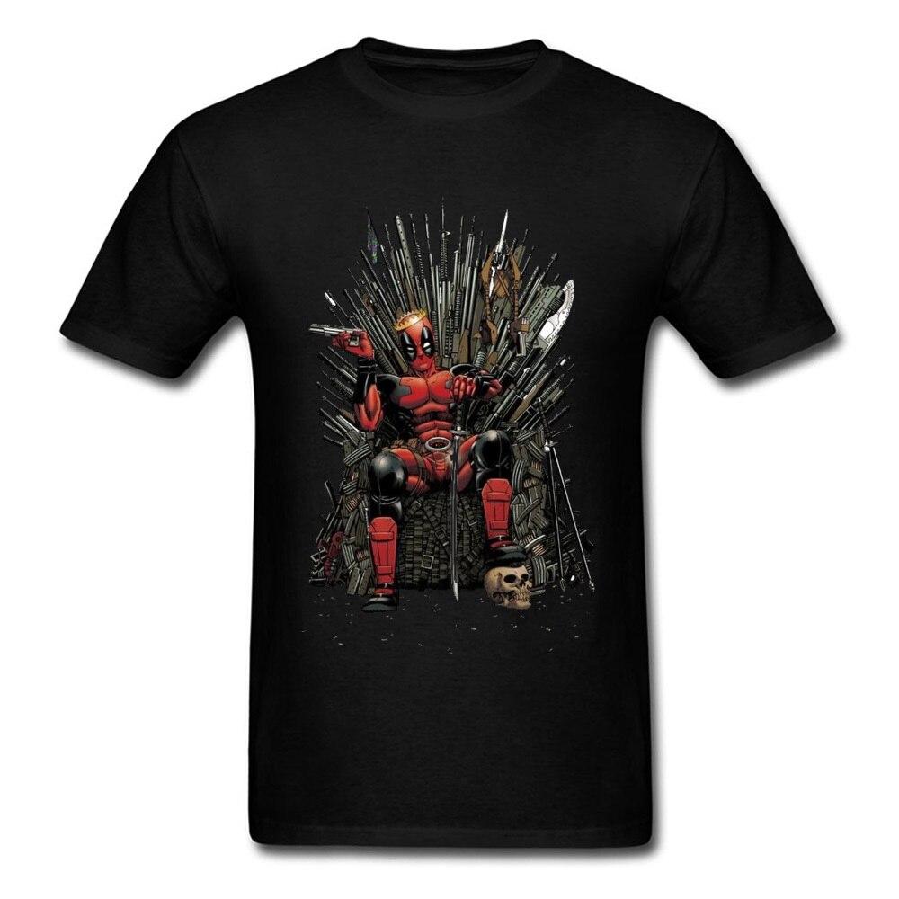 Marvel Deadpool Endgame New Tshirt Spiderman Superhero Game of Throne Men T Shirt 3D Print Infinity War Hero Dead Pool Cool