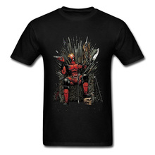 Marvel Deadpool Endgame New Tshirt Spiderman Superhero Game of Throne Men T Shirt 3D Print Infinity War Hero Dead Pool Cool