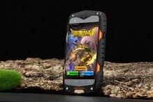 Nuevo llega descubrimiento V11 3 G Smartphone IP68 impermeable Android 5.0 MTK6582 Quad Core 4.0 pulgadas pantalla GPS a prueba de choques del móvil