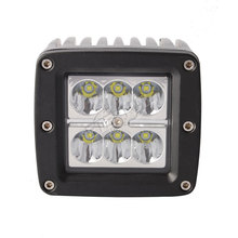 Hot-3in 18W cube led work light for off road pick-up truck motorcycle