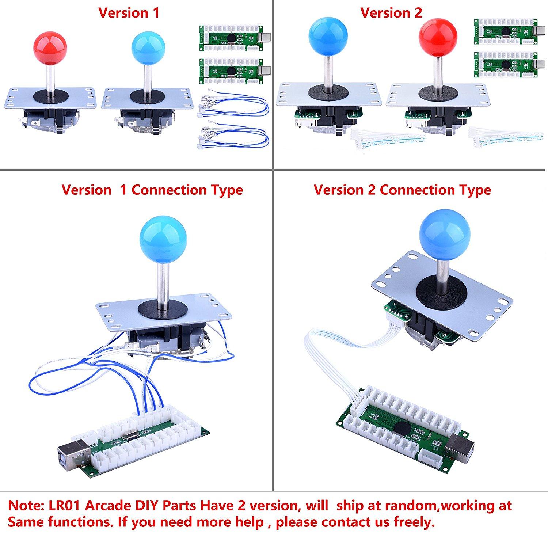 for Raspberry Pi 3 2 Model B Retropie Arcade DIY Parts 2XZero Delay USB Encoder