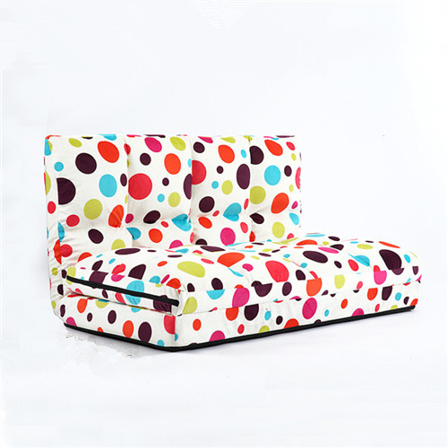 Double Lazy Chaise Lounge Sofa Chair Floor Couch with Two Pillows Living Room Furniture Fabric Folding Lounger Floor Gaming Sofa