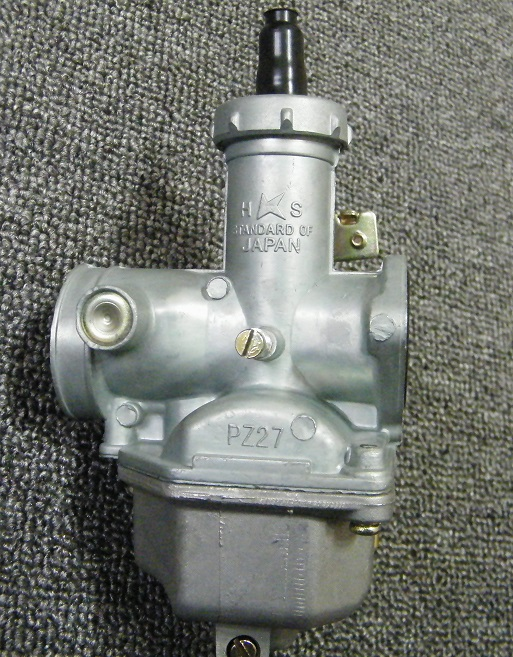 Carburetor PZ27 27MM Intake With 40MM Air Filter Cable CHOKE 150cc 200cc 250CC ATV QUAD Bike