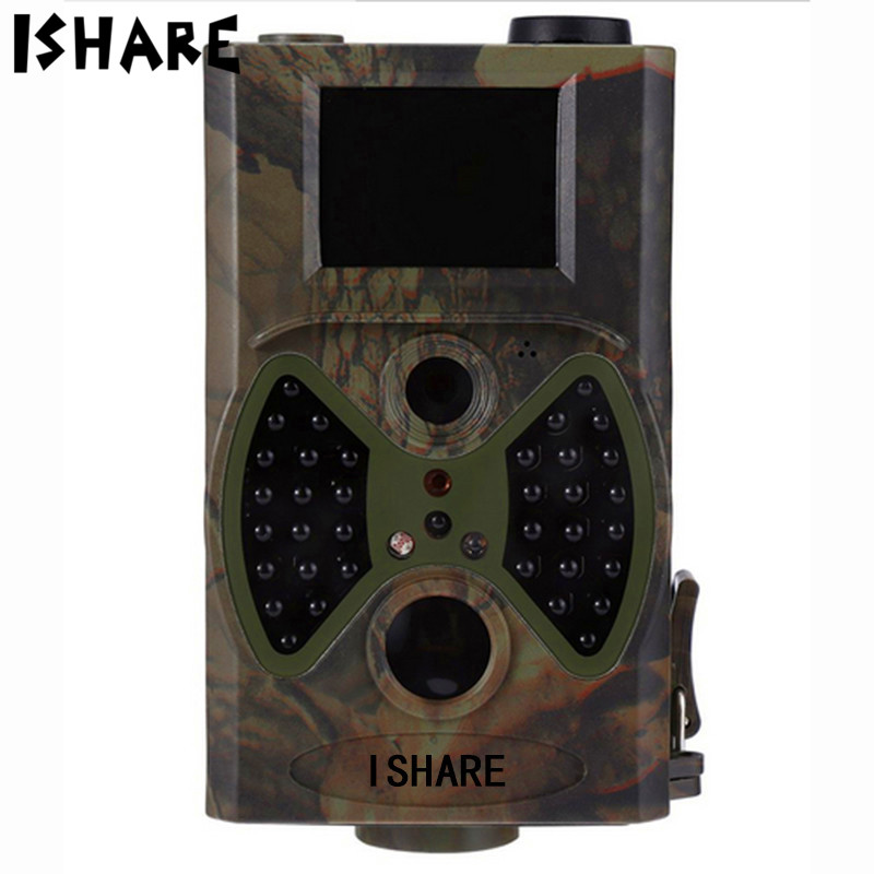 Ishare Wildlife Trail Camera JS03M MMS GSM Cam 940nm Invisible Animal Traps 12MP 1080P Animal Hunting Camera With Remote Control 2pcs lot free shipping gsm remote security camera with nightvision motion detection mms cam