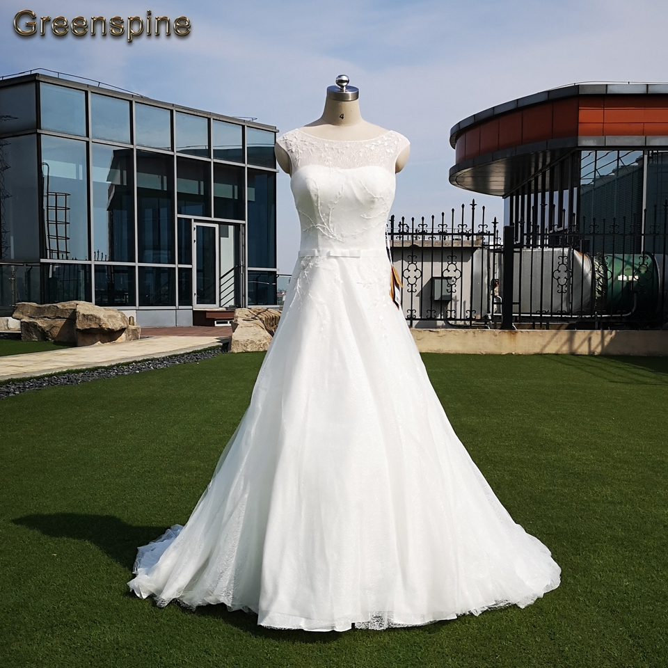Greenspine Cheap Wedding Dresses China 2019 Hochzeit